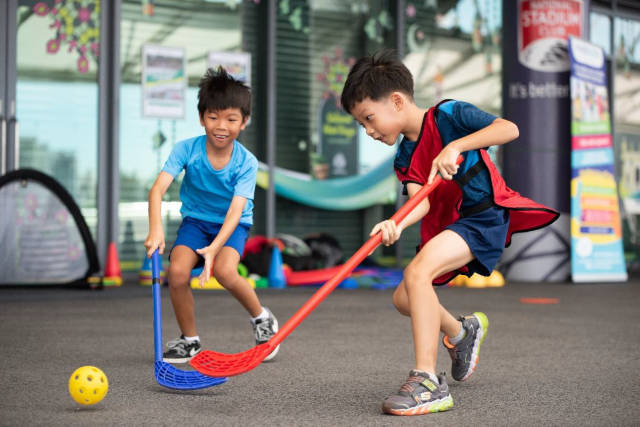 Singapore Sports Hub Celebrates the Season of Giving this December!