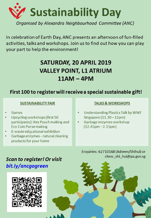 ANC Sustainability Day Poster