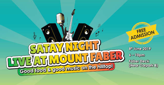 Satay Night LIVE at Mount Faber