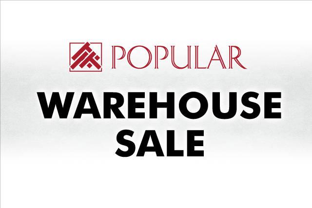 Warehouse Sale Popular