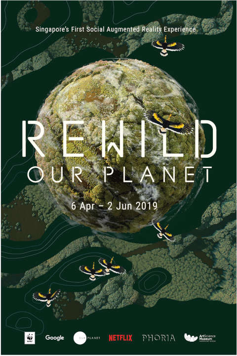 artscience museum rewild our planet