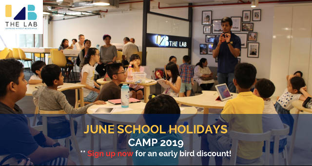 the lab june school holiday camp 2019