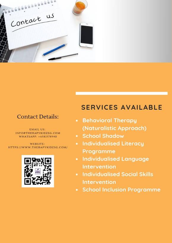 therapy kidz enrichment programmes page 2