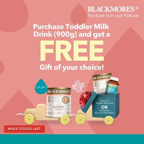 Blackmores Toddler Milk Drink qoo10