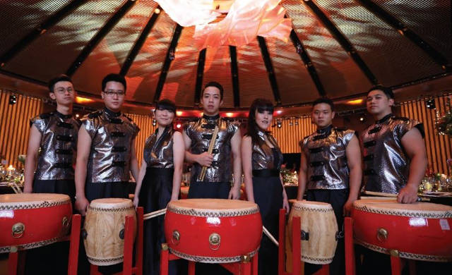 Chinese Percussion cultural extravaganza sccc