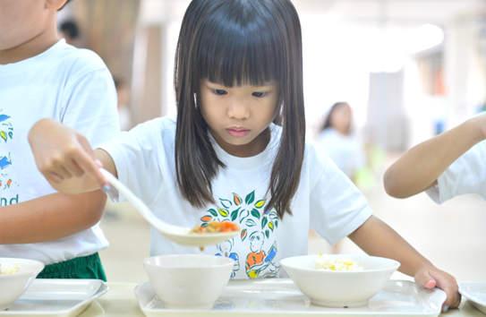 Eco-Conscious Child