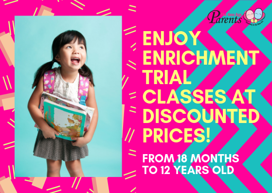 Enrichment Trial Classes At Discounted Rates For Toddlers Preschoolers Primary School