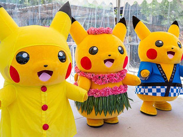 Pokémon at the Pokémon Carnival