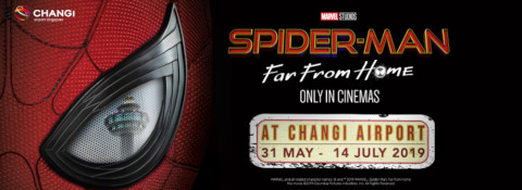 Spider-Man Swings in to Changi Airport this June School Holidays