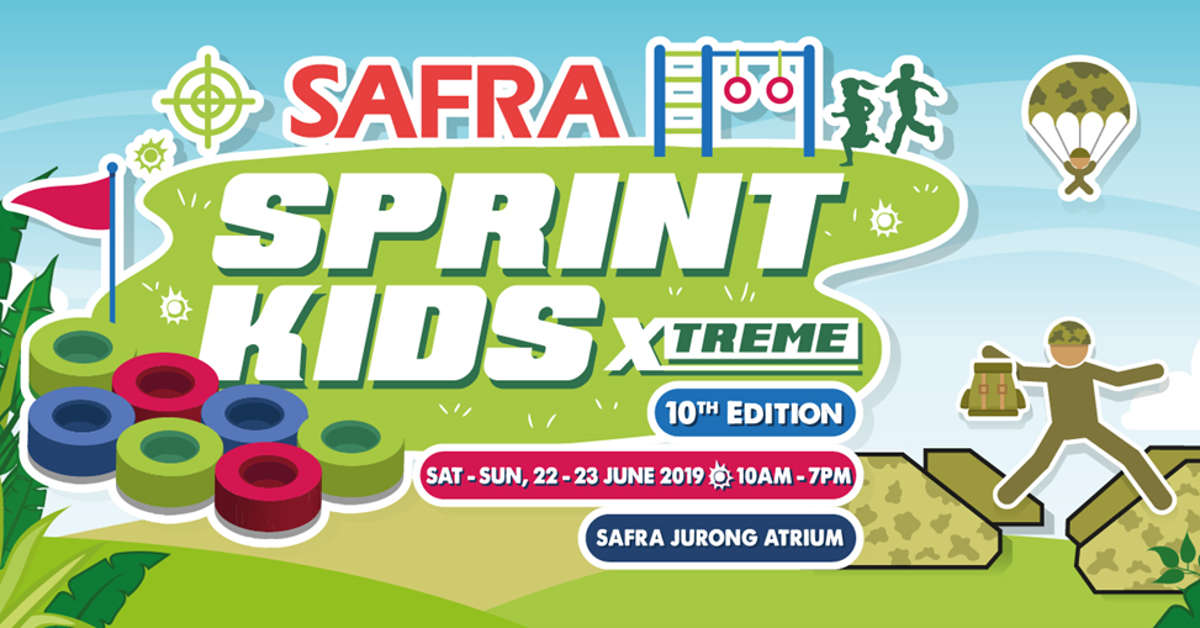 Sprint Kids Xtreme at SAFRA Jurong