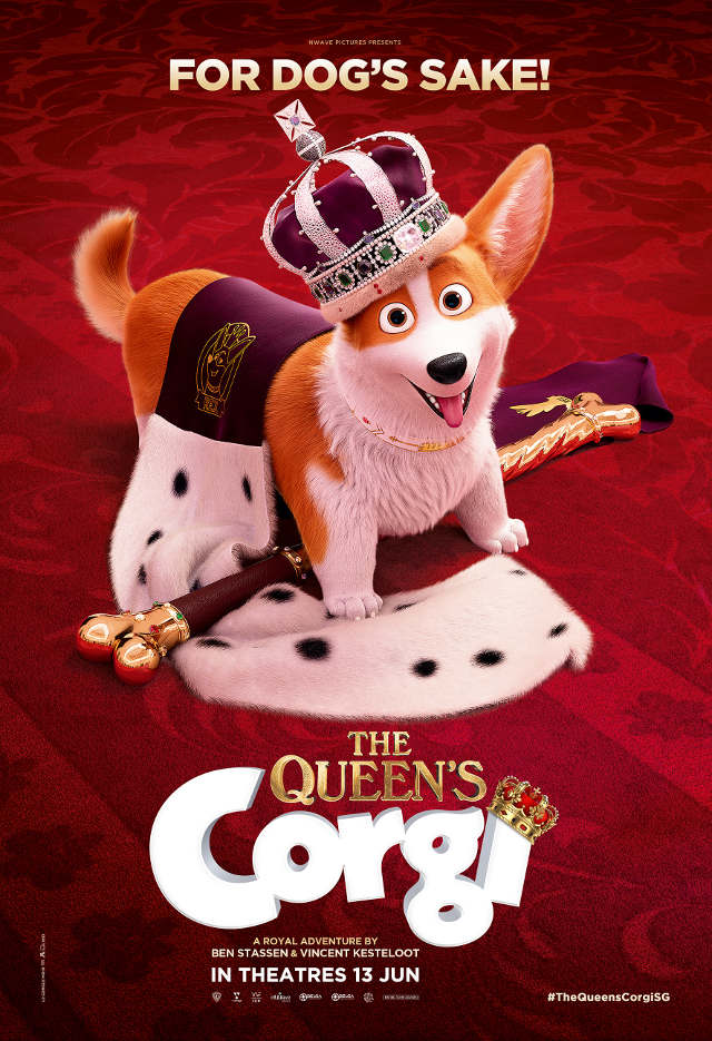 The Queen's Corgi Preview Movie Ticket
