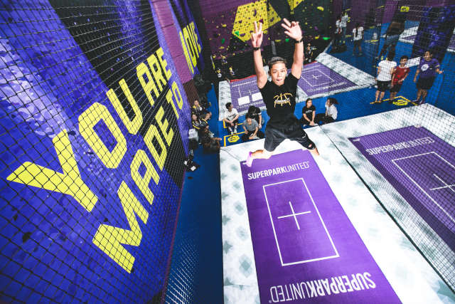 Trampoline SuperPark singapore