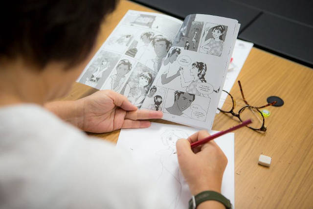 comic drawing cultural extravaganza sccc