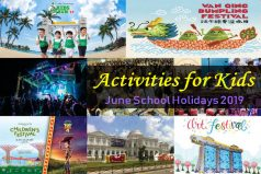 June School Holidays 2019 Activities for Kids