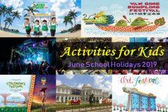 June School Holidays 2019 Activities for Kids