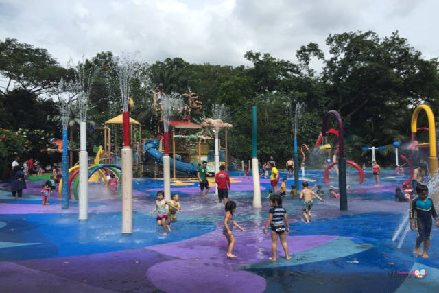 Water Playgrounds In The North Of Singapore