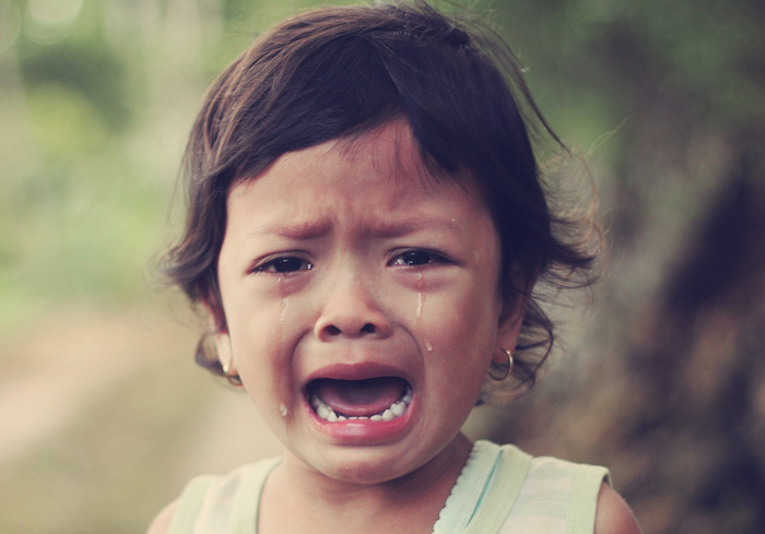 Are Our Kids Really Brave For Not Crying?
