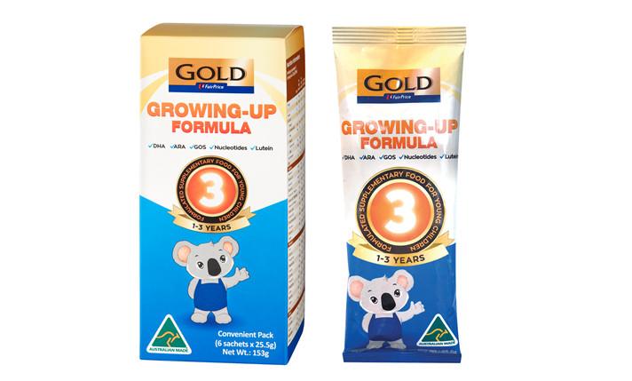 FairPrice Gold Infant Formula Milk sachets