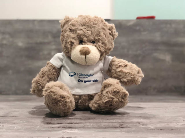 Gleneagles teddy bear