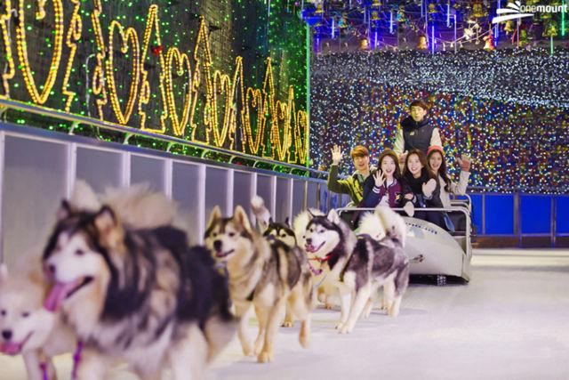 Kid friendly destinations South Korea OneMount Snow Park