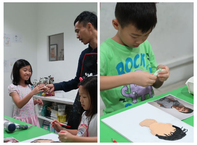 Kids art programme Heart Studio