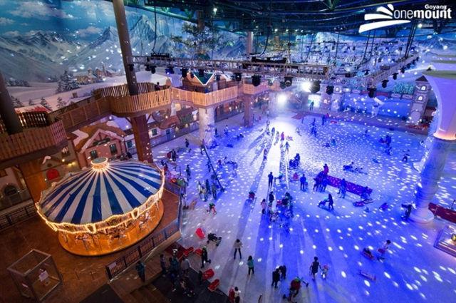 Travel Dynasty kid friendly tour South Korea Onemount Snow Park