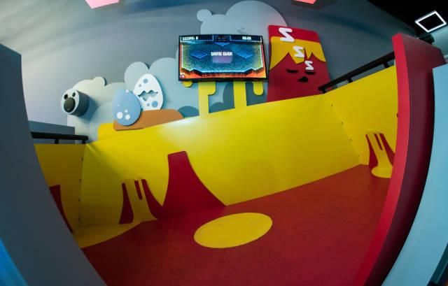 amazing castle burning surfer indoor playground