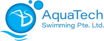 aquatech swimming logo