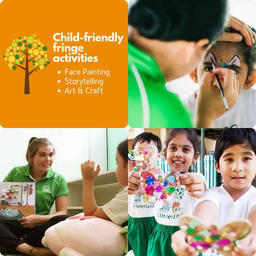 kinderland open house fringe activities