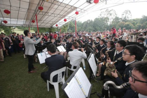 performances on the Istana grounds during the Open House