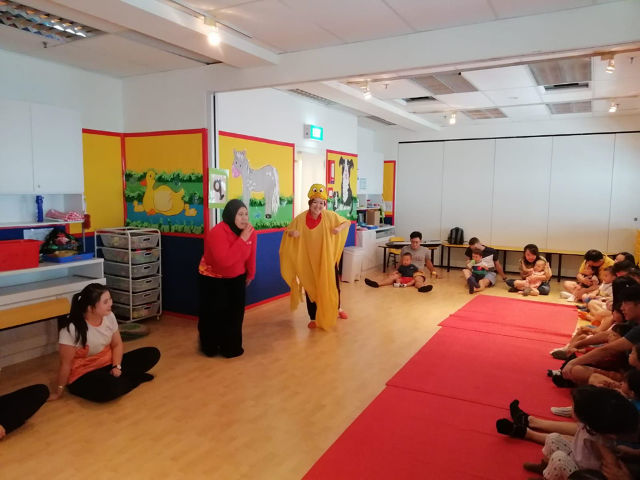 Bilingual Classes for infants Julia Gabriel Centre