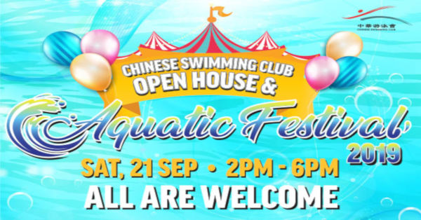 Chinese Swimming Club CSC Open House 2019