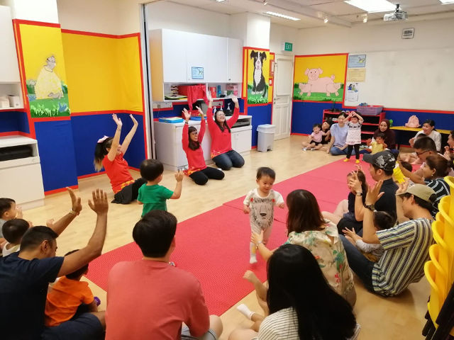 Enrichment for infant and toddlers Julia Gabriel Centre Programmes