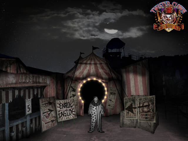 Halloween Horror Nights Twisted Clown University
