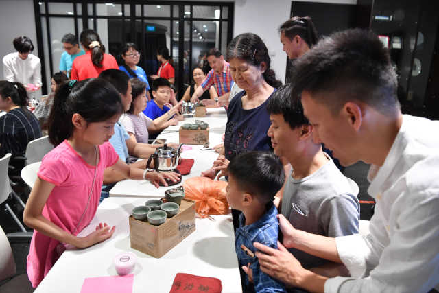 Happy Tea Parent-Child Workshop Mid-Autumn Festival Singapore Chinese Cultural Centre