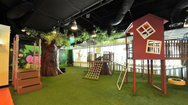 Indoor playground at Suntec Cool De Sac