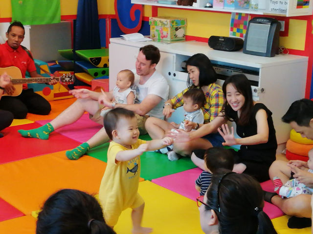 Infant and toddler early learning programmes Julia Gabriel Centre