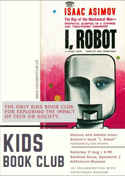 Kids Book Club gathering