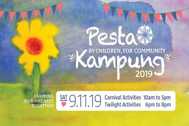 Pesta Kampung 2019 at Ground-Up Initiative