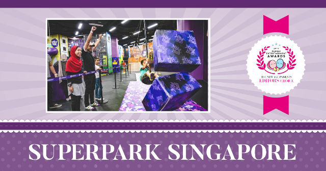 SuperPark Singapore TNAP editors choice award