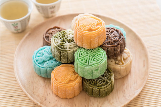 Wan Qing Mid Autumn Festival Make Clay Mooncakes