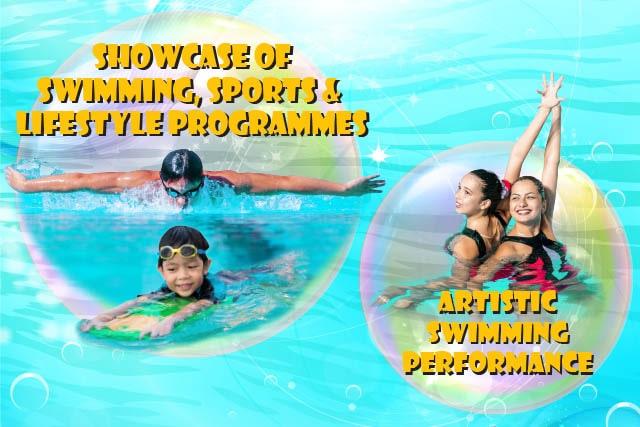 chinese swimming club aquatic festival