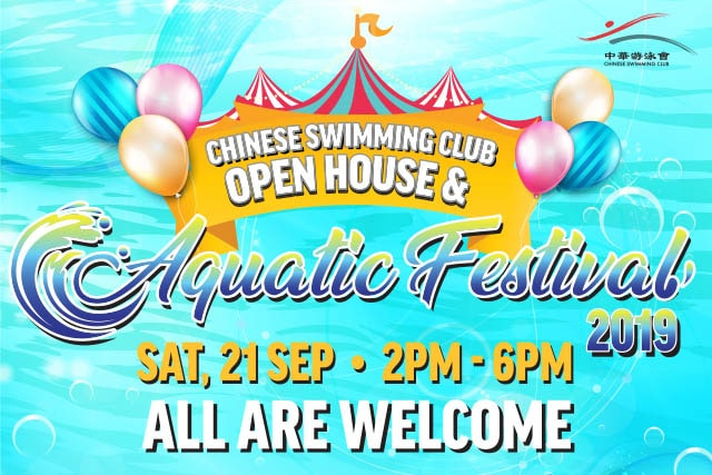 chinese swimming club open house aquatic festival
