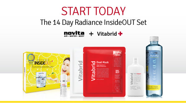 novita 14days radiance set