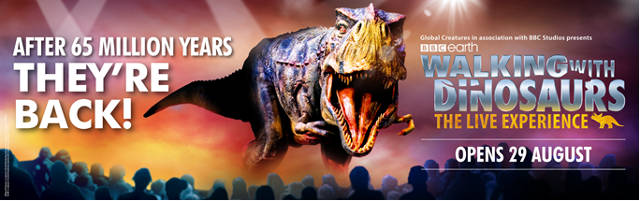 walking with dinosaurs singapore 2019