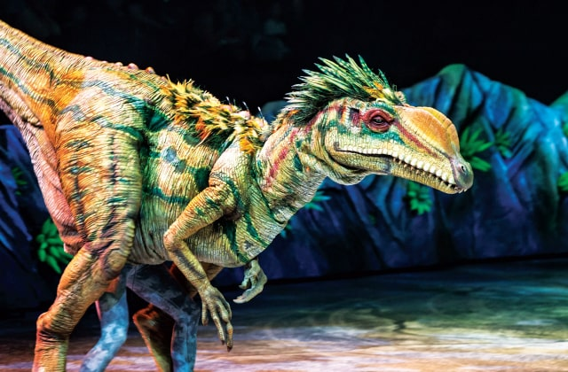 walking with dinosaurs singapore