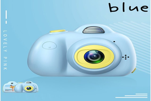 Children Digital Camera HD 1080P Mini Dual Lens