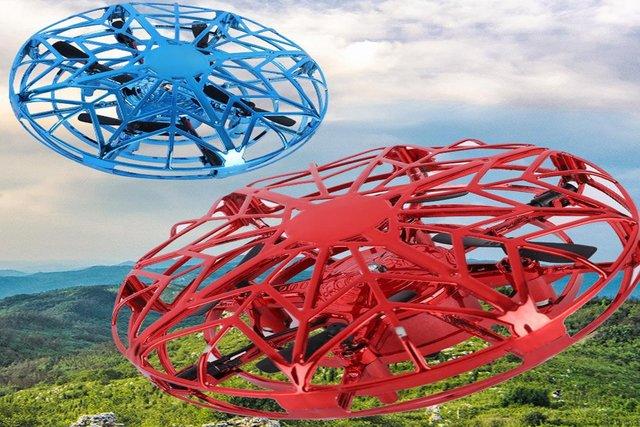 Multi-directional Mini Drone Quad Induction Levitation UFO