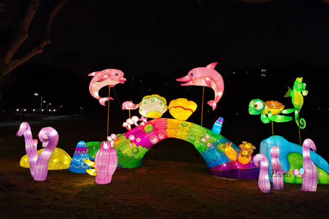 mid autumn festival at jurong lake gardens
