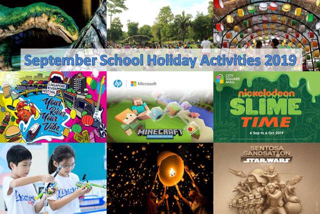september school holiday activities 2019
